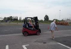 Kurs Operator wózków widłowych (jezdniowych) z napędem silnikowym