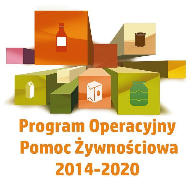 Obrazek prezentujący logotyp Program Operacyjny Pomoc Żywnościowa 2014-2020 - Podprogram 2020 (link otworzy duże zdjęcie)